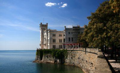 Miramare zámek - Terst, Itálie
