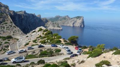 Výhled z majáku Cap Formentor