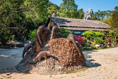 Jižní Vietnam - cesta k Tranh stream