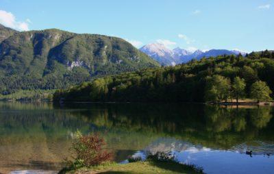 Slovinsko - Savica, Bohnijské jezero