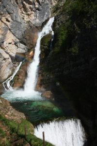 Slovinsko - Vodopád Savica