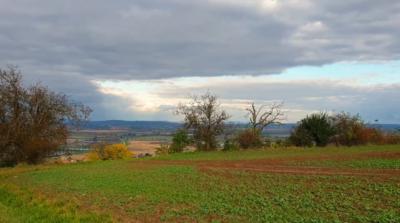 Výhled z kopce Výhon