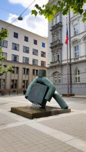 Socha Spravedlnost (Exekutor) Brno