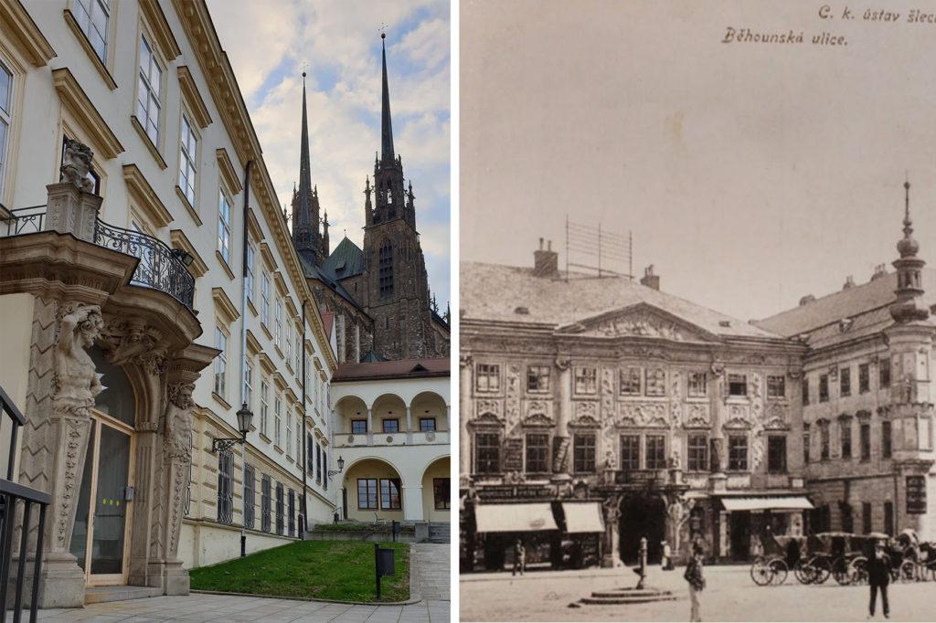 Portál z paláce Mitrovských