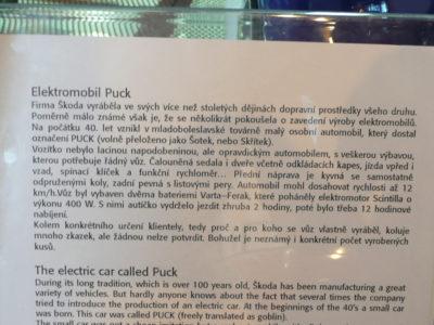 Elektromobil Puck
