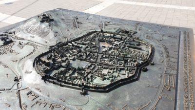 Bronzová plastika Brna z roku 1645