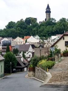 Pohled na město Štramberk