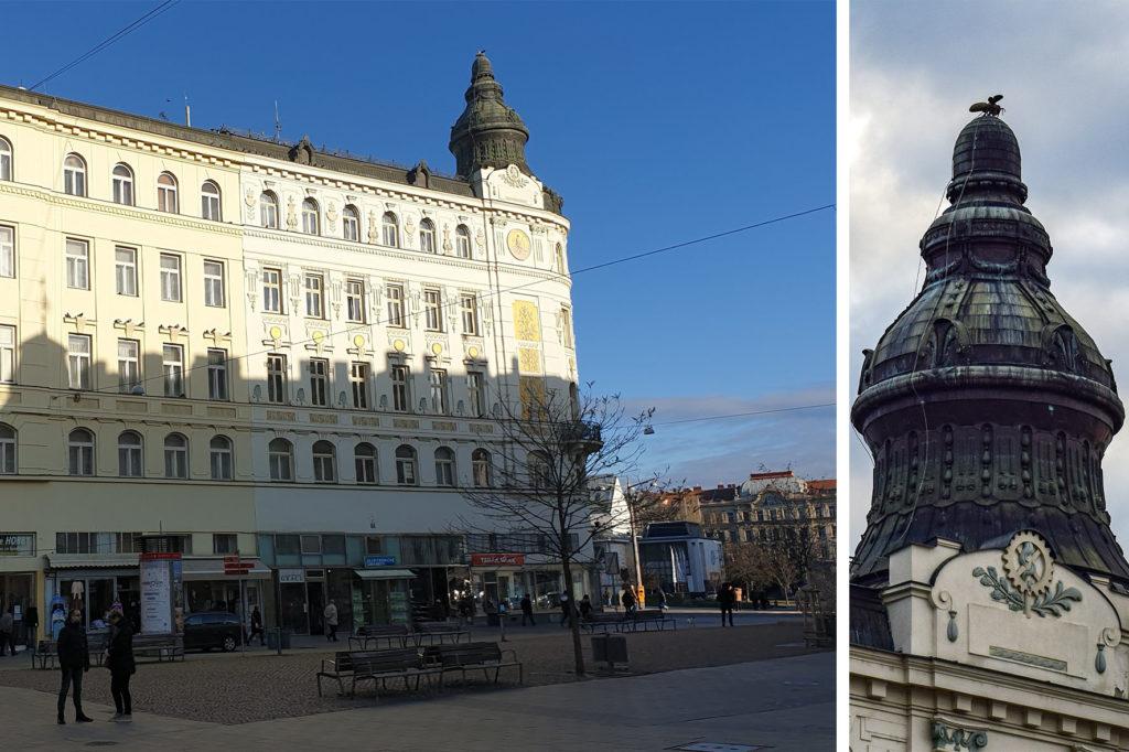 Palác Včela - Brno